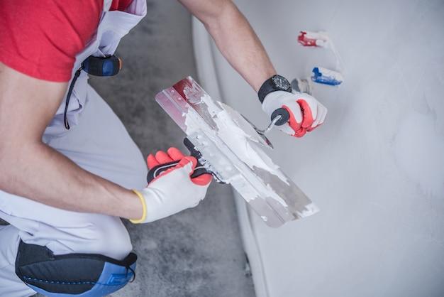 Lavori di patchwork a drywall