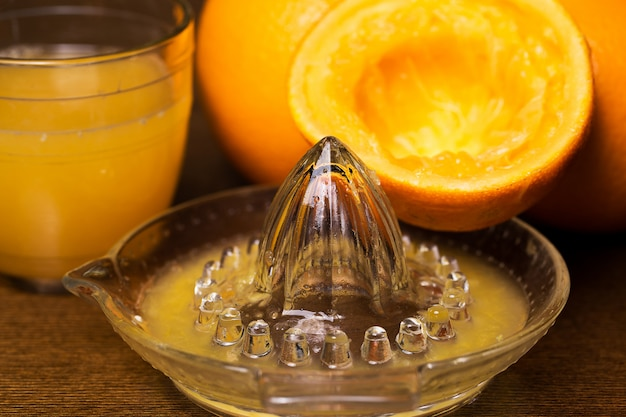 Le arance e il suo succo