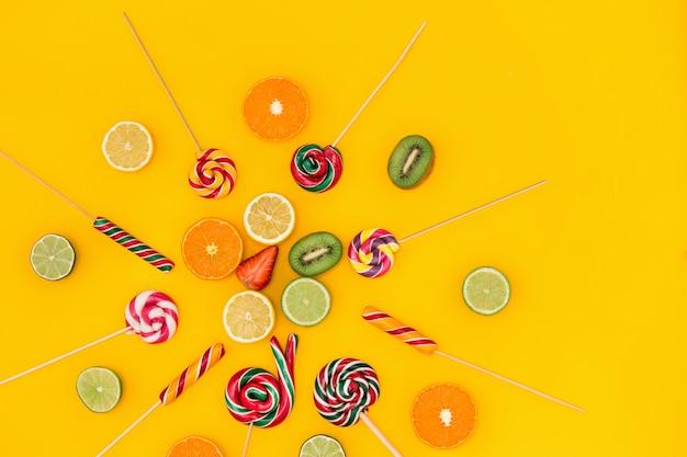 Le caramelle colorate