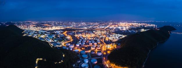 Le importazioni e l'esportazione di affari della zona del gas di petrolio dell'industria petrolchimica della raffineria internazionale