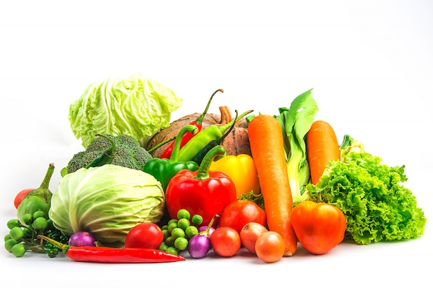 Le verdure dell'accumulazione hanno isolato la priorità bassa bianca
