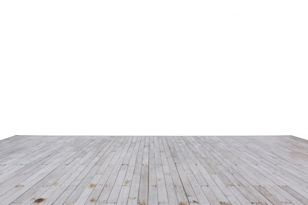 Legno di legno del bacino della baia isolato su bianco
