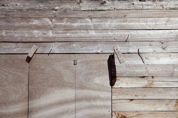 Legno invecchiato grigio secco in riva mediterranea