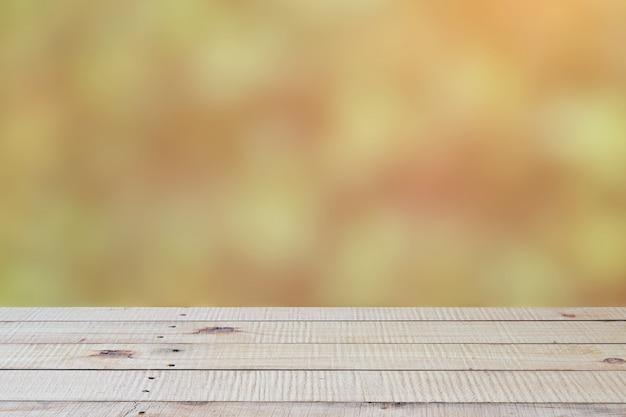 Legno marrone prospettiva vuota
