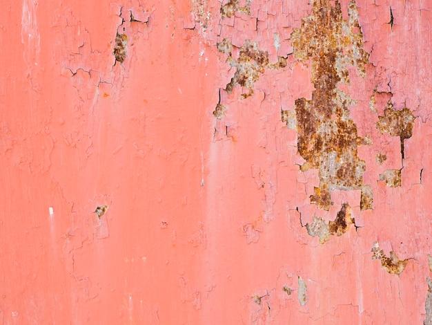 Lerciume e fondo strutturato della pittura sbucciata