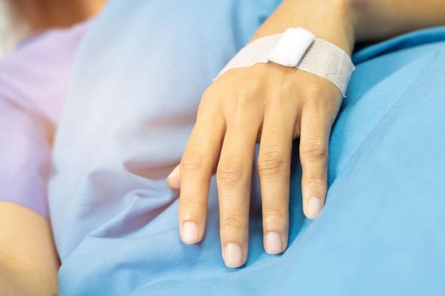 Lesione del paziente in ospedale