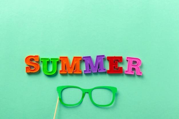 Lettere e vetri di estate