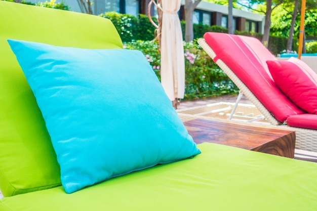 Letto salone dell'hotel paradiso tropicale