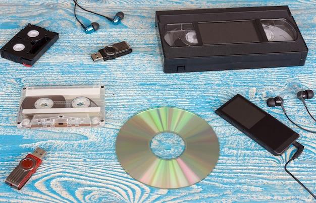 Lettore musicale e cassette