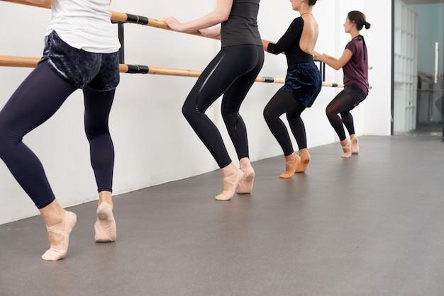 Lezione di danza classica