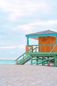 Lifeguard tower a miami