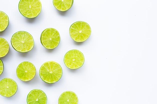 Limes isolato.