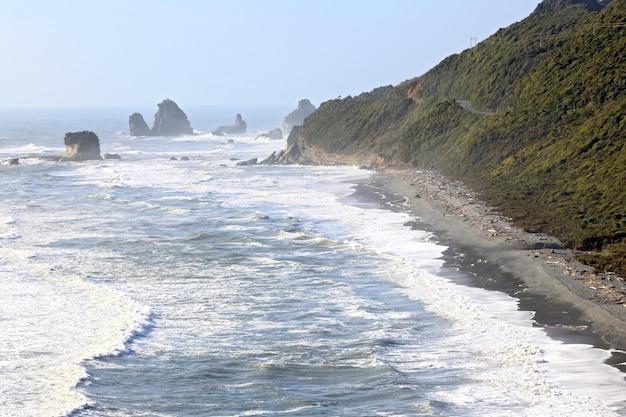 Linea costiera della nuova zelanda