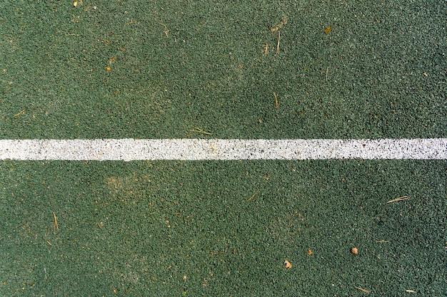 Linea di marcatura del campo da tennis