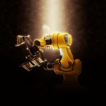 Linea di montaggio del robot