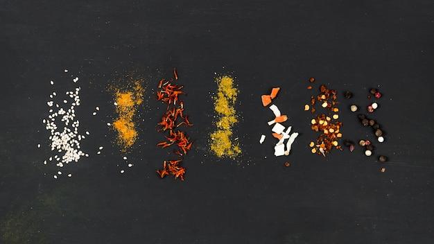 Linea di pile di spezie