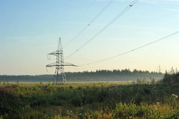 Linea di trasmissione ad alta tensione