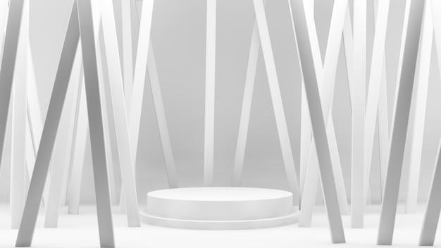 Linee bianche della piattaforma