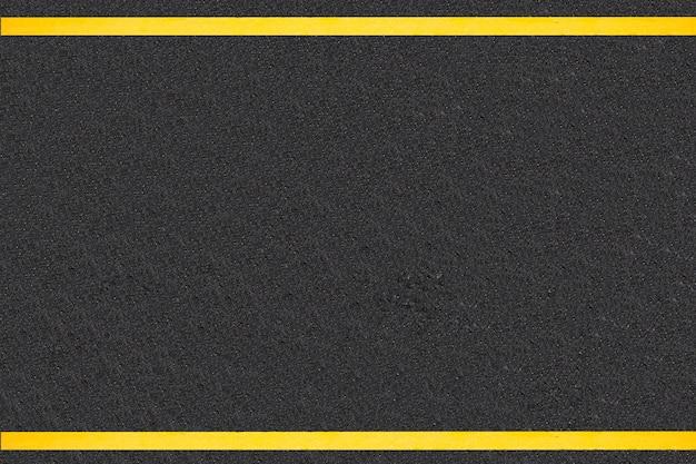 Linee di traffico su sfondo strade asfaltate