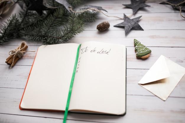 Lista delle cose da fare di natale