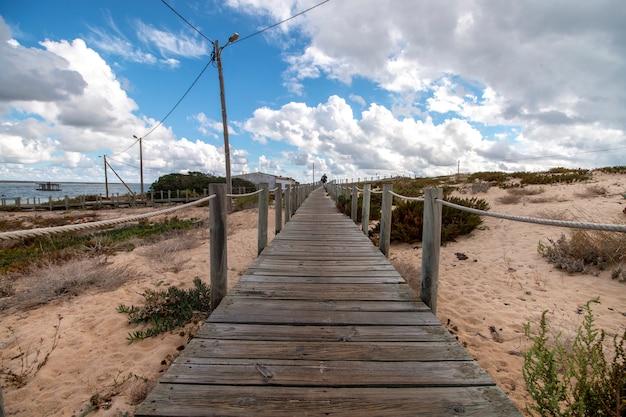 Litorale di dune di sabbia
