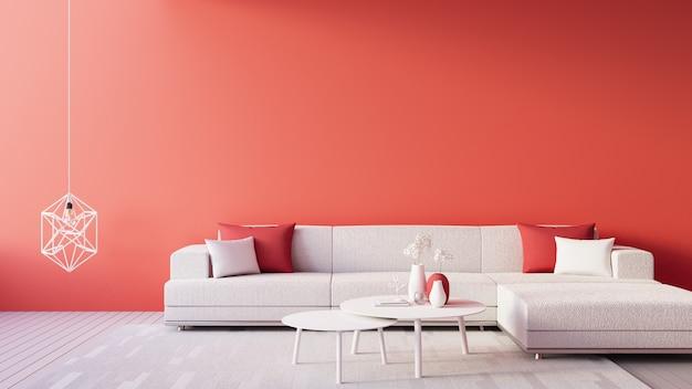 Living coral interior / colore dell'anno per festivo e san valentino