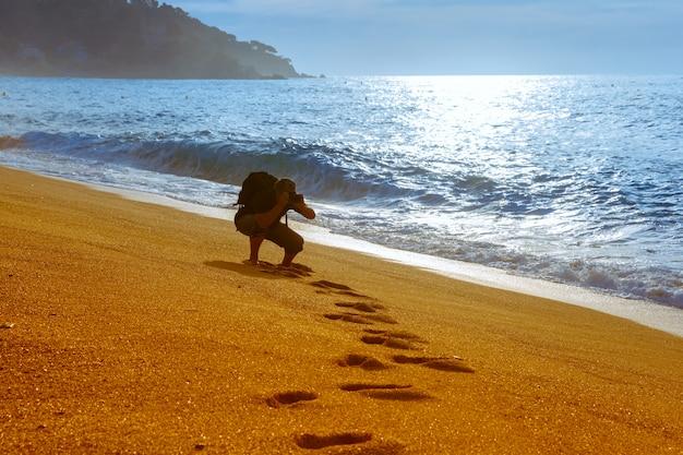 Lloret de mar sulla costa brava, catalunya, spagna