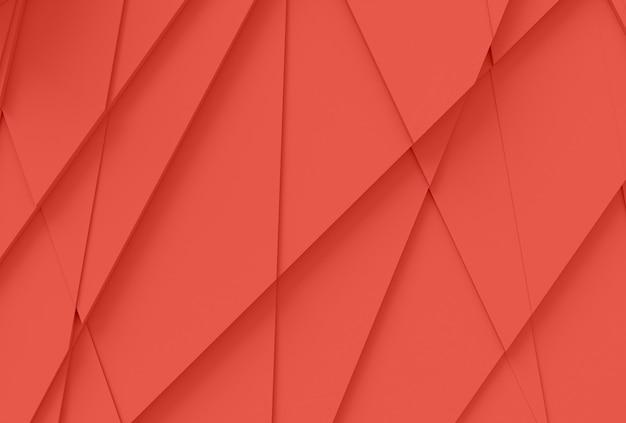 Lo sfondo dalla superficie ha tagliato in molti poligoni differenti che gettano un'illustrazione dell'ombra 3d