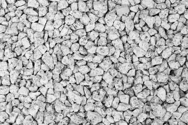 Lo sfondo dell'immagine ghiaia usato come passerella nell'arredo del giardino