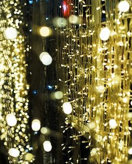 Lo sfondo sfocato design leggero di luce bokeh