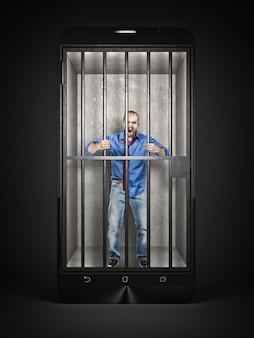 Lo smartphone è la mia gabbia