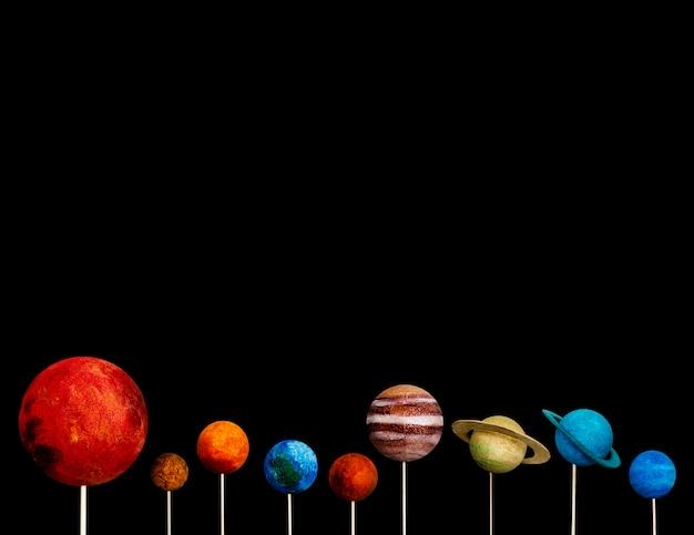 Lo spazio dell'universo è davvero grande.