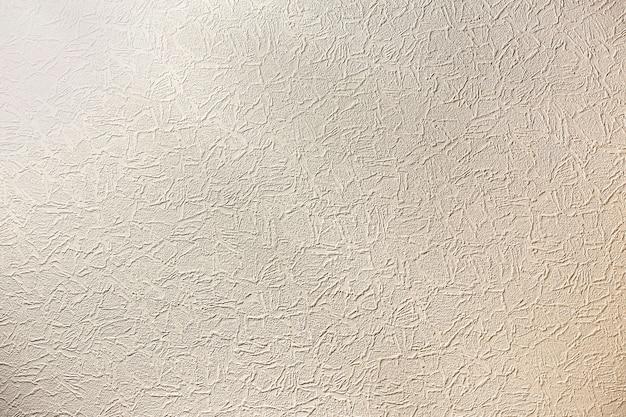 Lo spazio grigio chiaro bianco dello spazio della copia di cemento naturale o la pietra ha stuccato la superficie piana della parete dello stucco o la struttura sgualcita panno come retro modello. sfondo vintage o grunge.