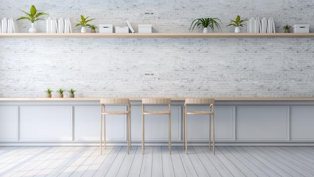 Loft interior design moderno
