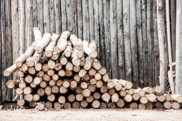 Log di eucalipto