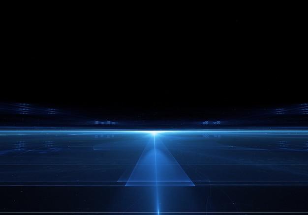 Loghts techno sfondo per il desktop