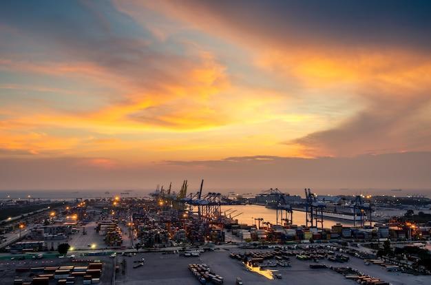 Logistica import export e background del settore dei trasporti