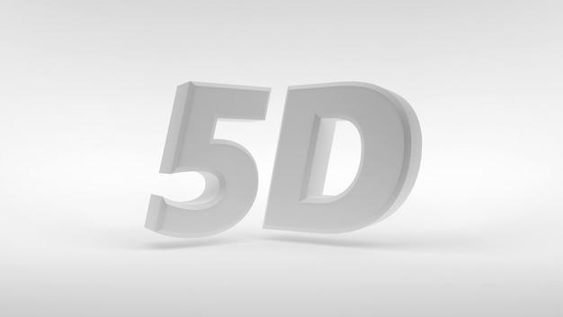 Logo bianco 5d