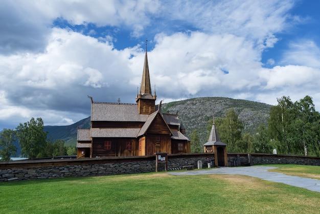 Lom stave church, norvegia