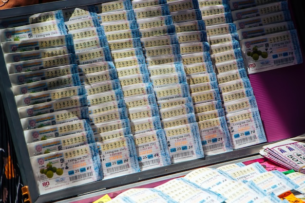 Lotteria in tailandia.