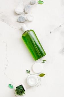 Lozione e crema naturali