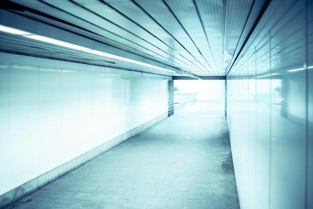 Luce alla fine del tunnel, concetto di obiettivo finale
