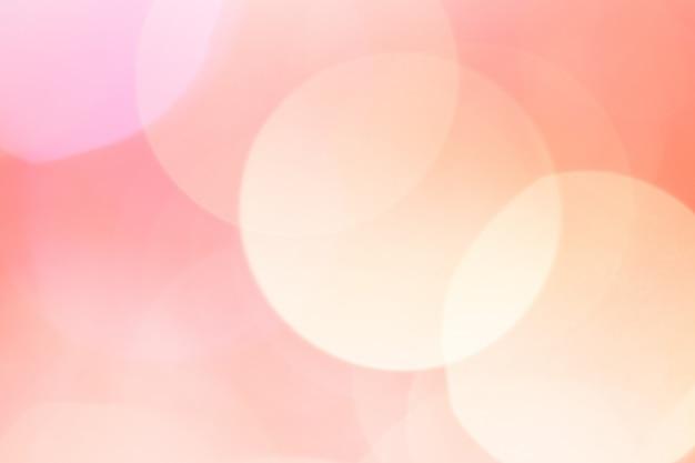 Luce astratta del bokeh. colore rosa pesca.