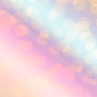 Luce del bokeh di sfondo