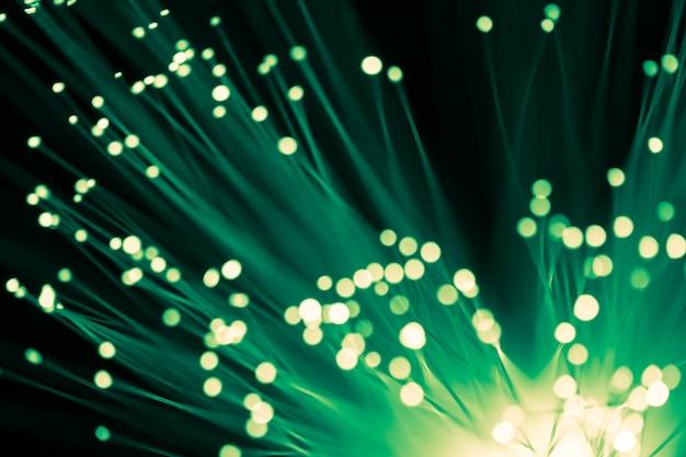Luce offuscata in fibra di vetro ottica