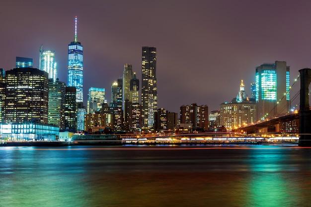 Luci della città di new york