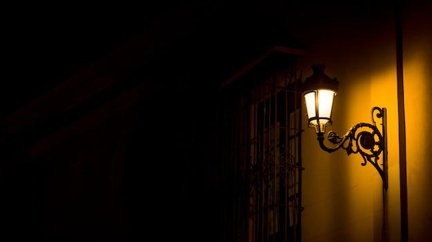 Luci della città di notte