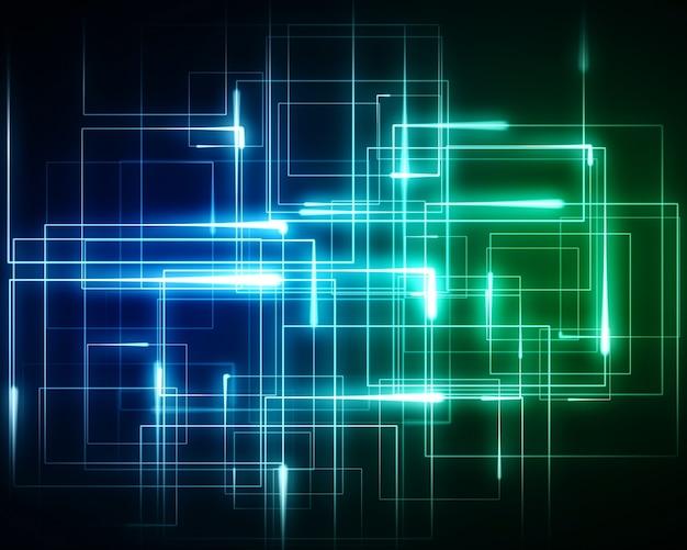Luci geometriche multiple