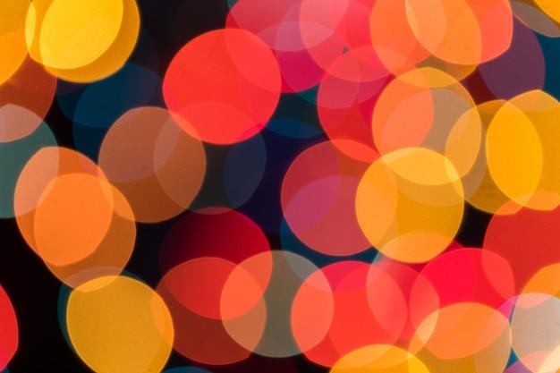 Luminoso astratto sfocato colorato
