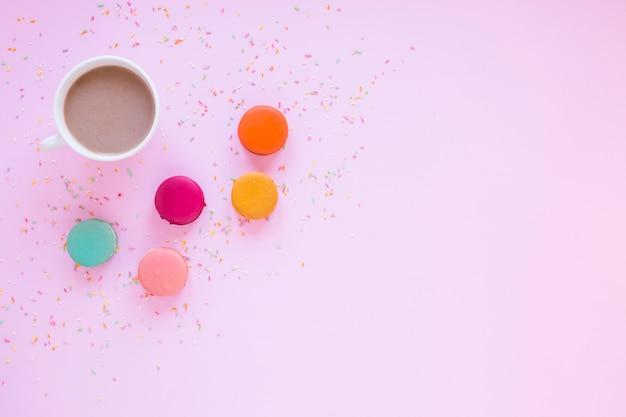 Macarons e cioccolato